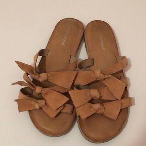 Jeffrey Campbell Bow Slide Sandals